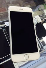 Unlocked - Apple iPhone 6  - 16GB - White/Silver