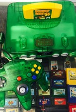Nintendo 64 N64 - Jungle Green Console w/ Expansion Pak