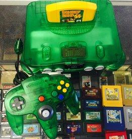 Nintendo 64 N64 - Jungle Green Console w/ Expansion Pak