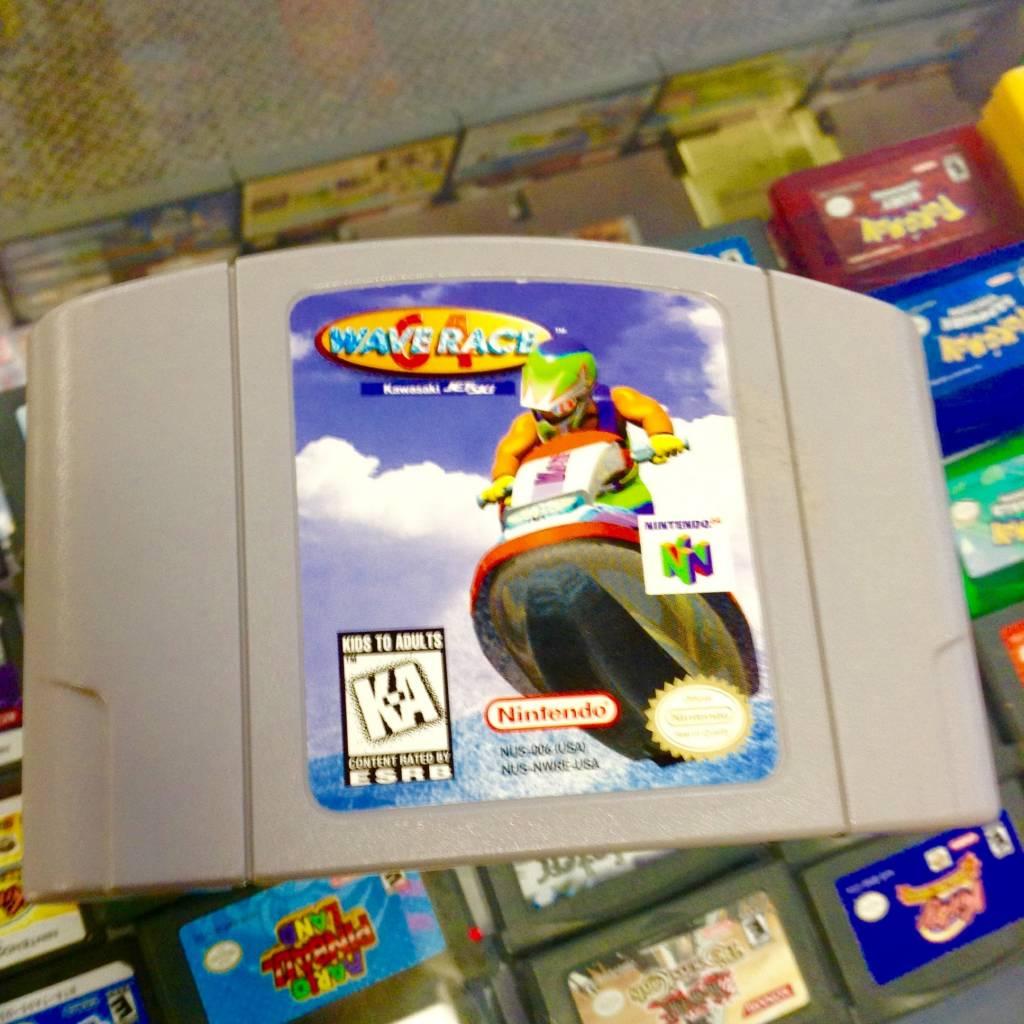 Wave Race 64 (Nintendo 64, 1996)