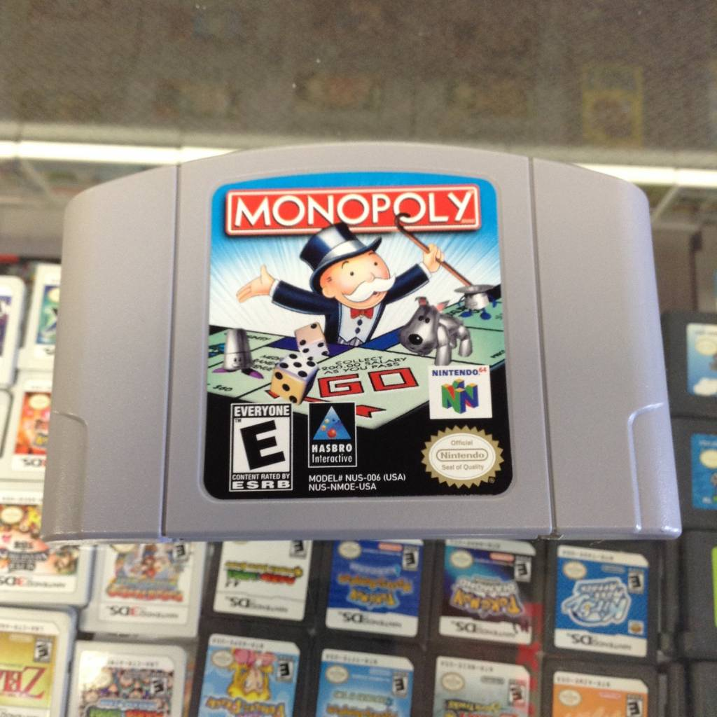 Monopoly - (Nintendo 64, 1999)
