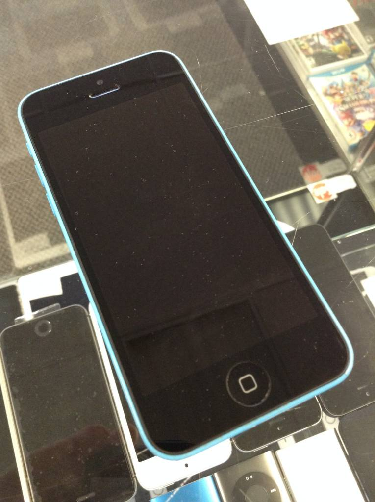 Unlocked - Apple iPhone 5c - 16GB - Blue