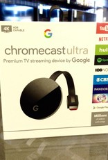 Google Chromecast Ultra - 4K TV Streamer - New In Box