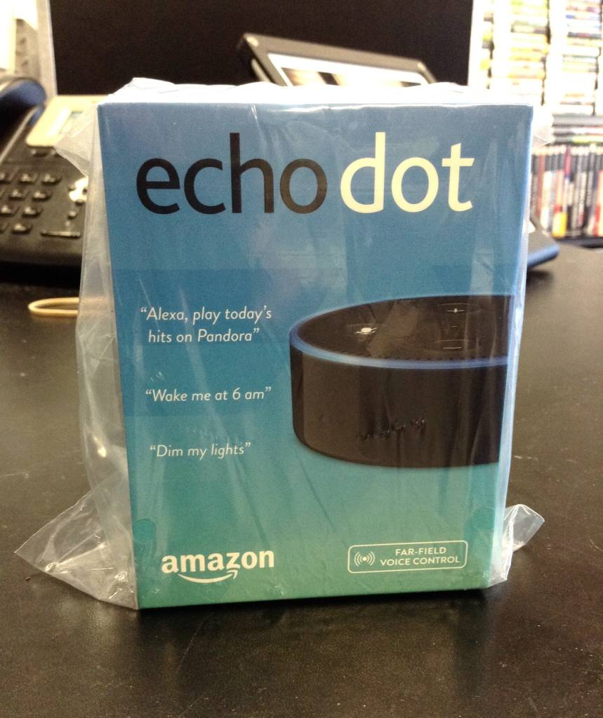 New- Amazon Echo Dot 2 - Alexa Personal Assistant (Black)