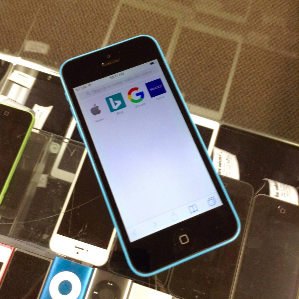 AT&T Only - iPhone 5C - 16GB - Blue - Fair