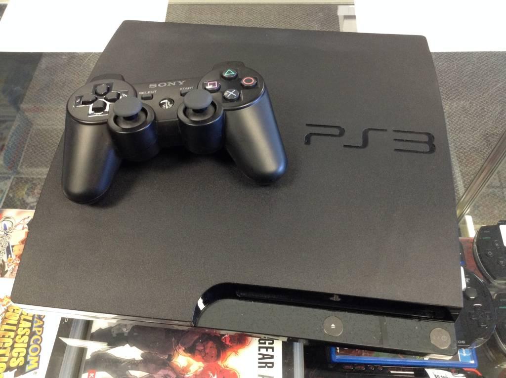 Playstation 3 (PS3) Slim Console - 120GB - Black