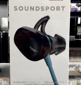 Bose SoundSport Wireless Headphones - Black - Factory Sealed