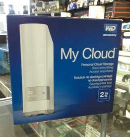 WD MyCloud 2TB Personal Cloud Storage & External Hard Drive