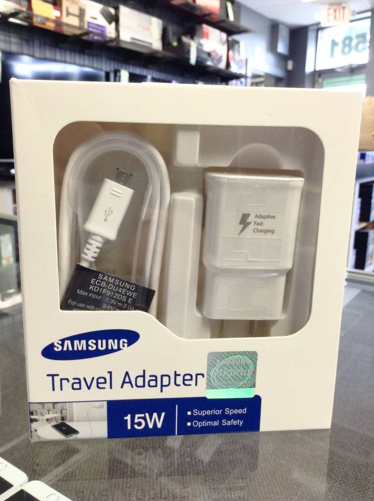 Samsung Fast Charger 15W Travel Adapter & Micro USB Cable - Brand New