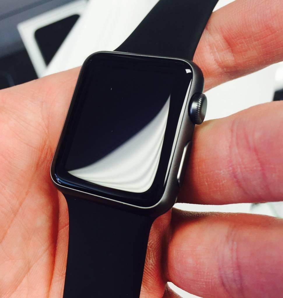 Apple Watch Series 1 - 42mm - Black Sport