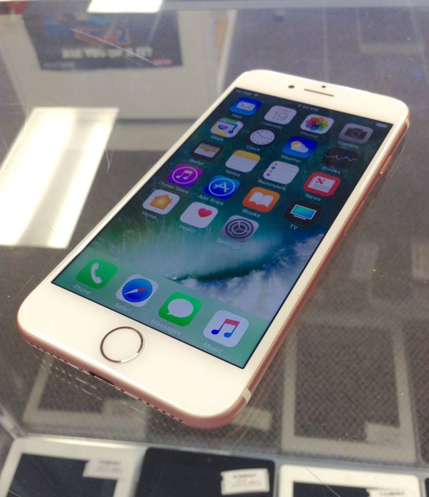 T-Mobile/MetroPCS Only - Apple iPhone 7 - 32GB - Rose Gold