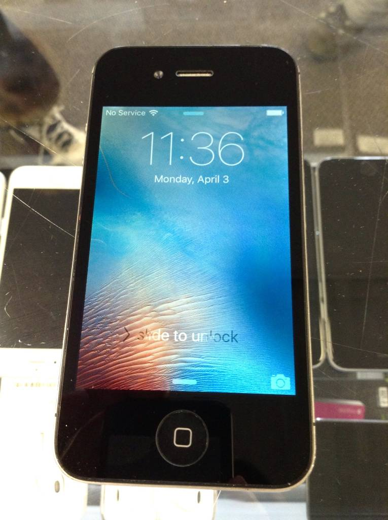 Verizon (UNSUPPOTED)  - Apple iPhone 4s - 16GB - Space Gray