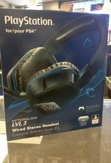 Used- Afterglow LVL 3 Wired Stereo Headset - PS4