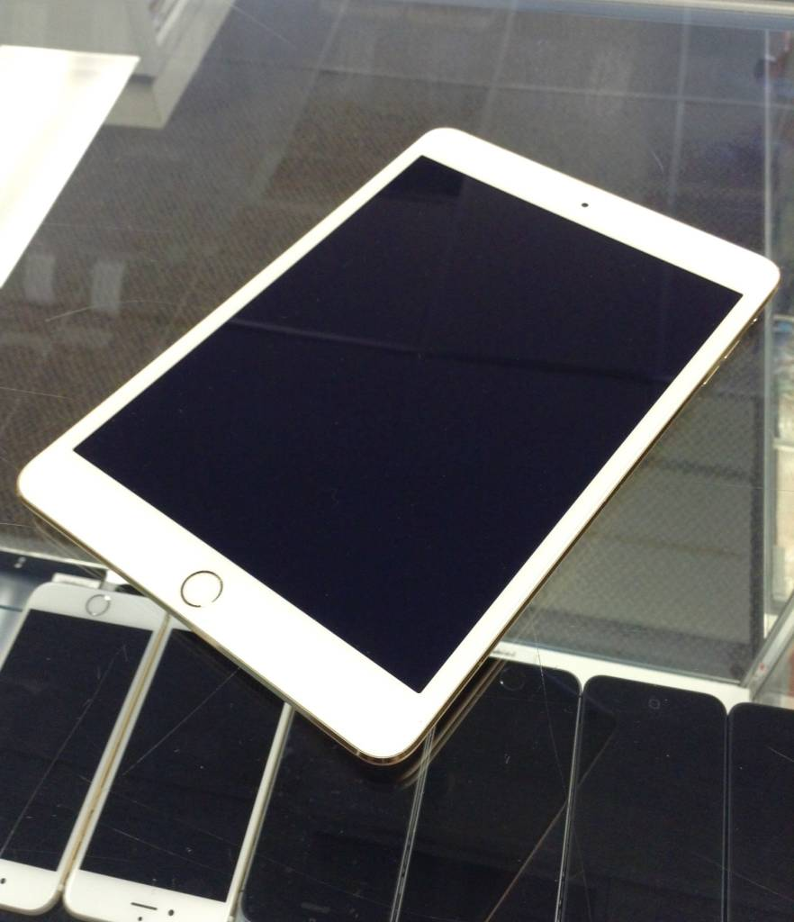 4G - Apple iPad Mini 3nd Generation - 64GB - White/Gold - WIFI