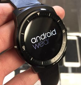 LG G Watch R Smart Watch - LG-W110 - Black