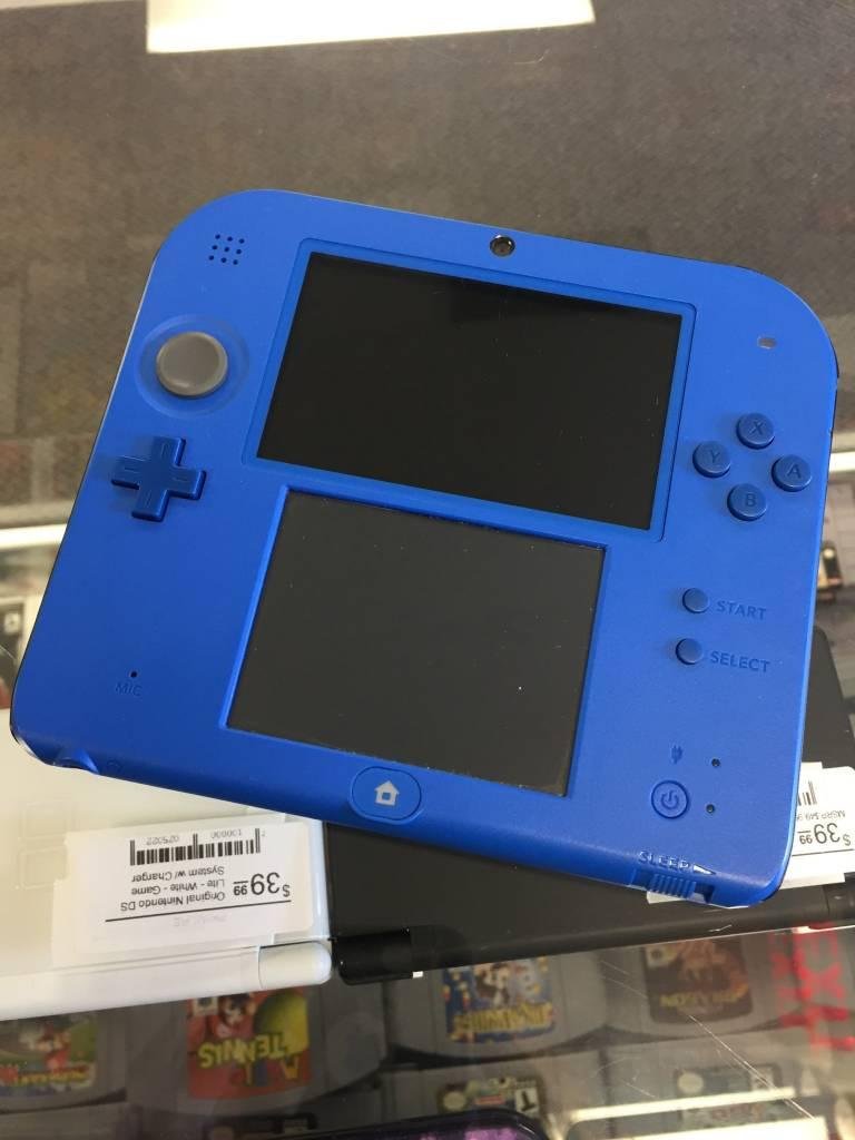 Nintendo 2DS Handheld Console - Blue - w/ Stylus