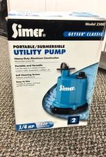Simer Geyser Classic Submersible Utility Pump