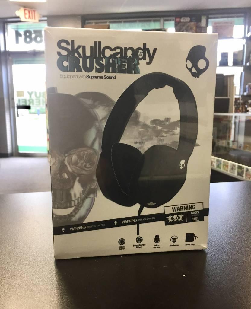 Skullcandy Crusher Over-Ear Wired Headphones - Brand New