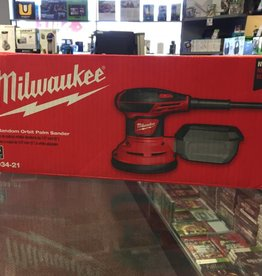 "Milwaukee 5"" Palm Sander - Brand New - 6034-21"