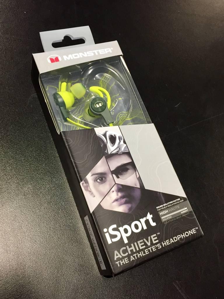 Monster iSport Achieve In‑Ear Earphones