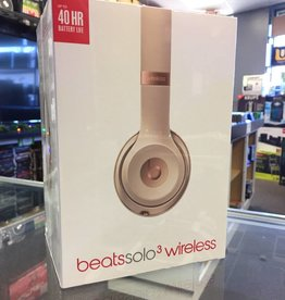 Factory Sealed - Beats Solo 3 Wireless - Rose Gold