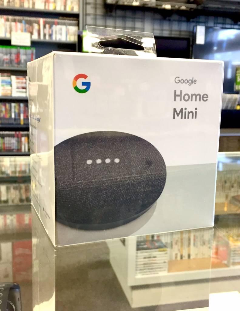 New - Google Home Mini - Black