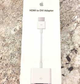 New - Genuine Apple HDMI to DVI Adapter