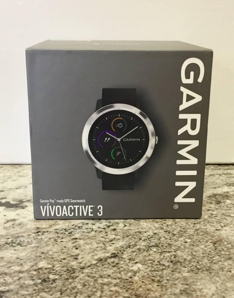 New Open Box - Garmin Vivoactive 3 - Black