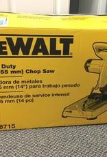 Mint in Box DeWalt D28715 15 Amp 14 in. Cut‑Off Saw
