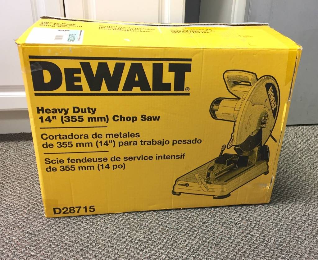 Mint in Box DeWalt D28715 15 Amp 14 in. Cut‑Off Saw