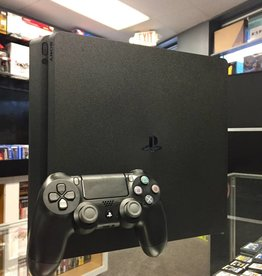 Sony PlayStation 4 (PS4) Slim - 1TB Console System - Black - Used