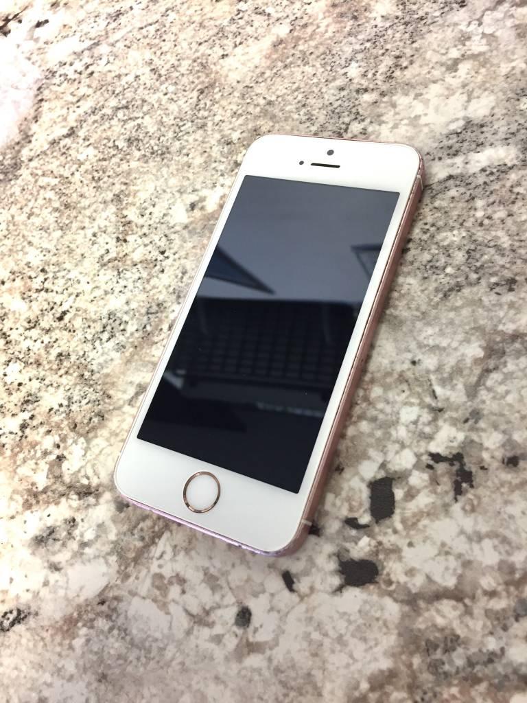 T-Mobile/MetroPCS - iPhone SE - 16GB - Rose Gold - Fair