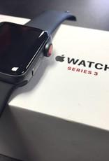 4G/GPS - Apple Watch Series 3 - 38mm - Black