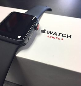 4G/GPS - Apple Watch Series 3 - 38mm - Black