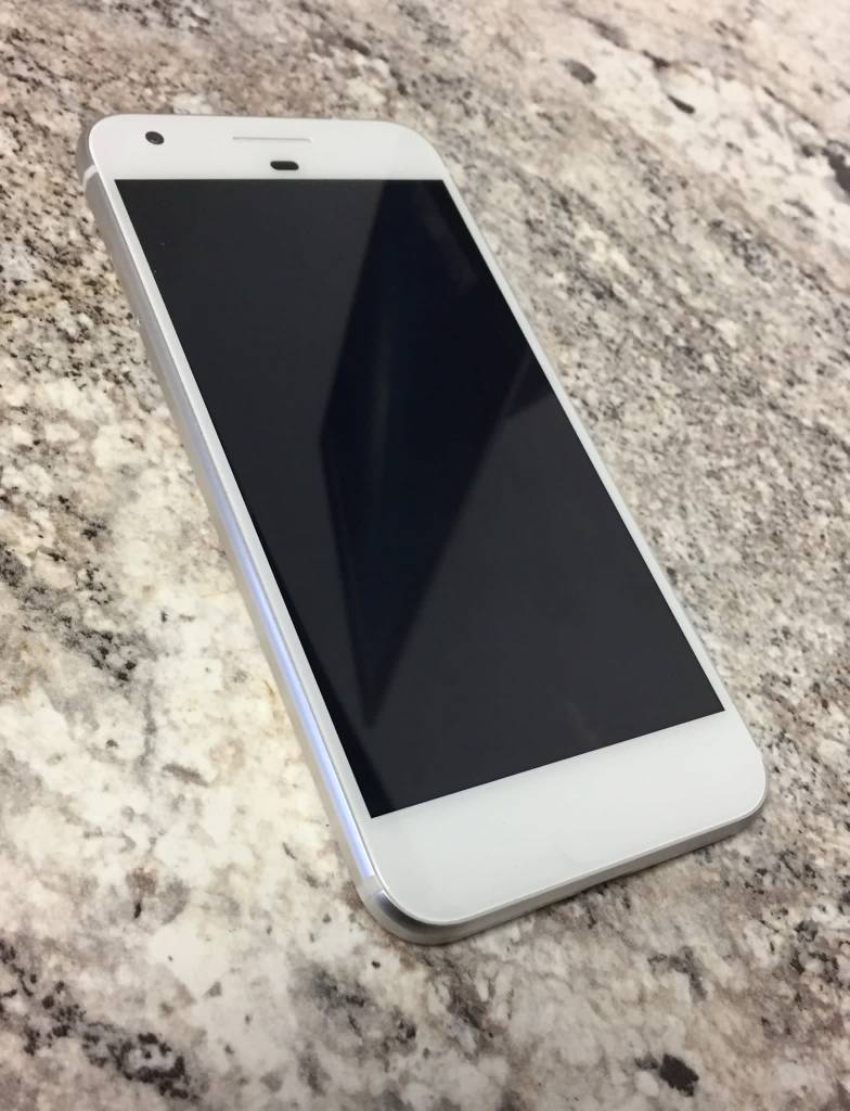 Unlocked - Google Pixel - 128GB - Silver - Fair
