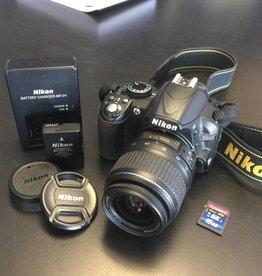 Nikon D3100 14.2MP Digital SLR Camera - Black (Kit w/ AF-S DX G ED II 18-55mm)