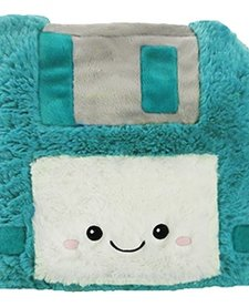 SQUISHABLE - FUZZY FLOPPY DISK