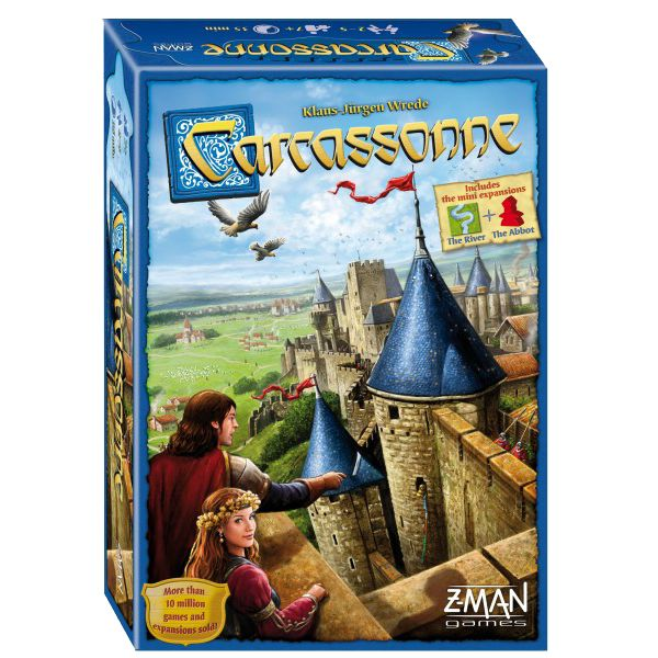 CARCASSONNE - BOARD GAME