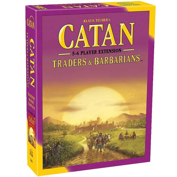 CATAN TRADERS AND BARBARIANS EXTENSION 5-6 PLAYERS