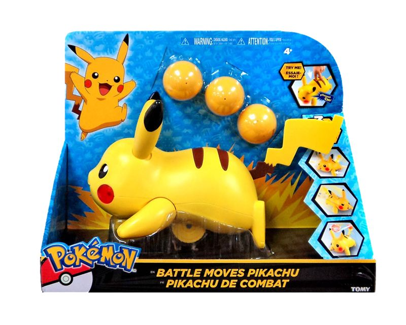 BATTLE MOVES PIKACHU