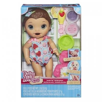 BABY ALIVE SUPER SNACKS LILY