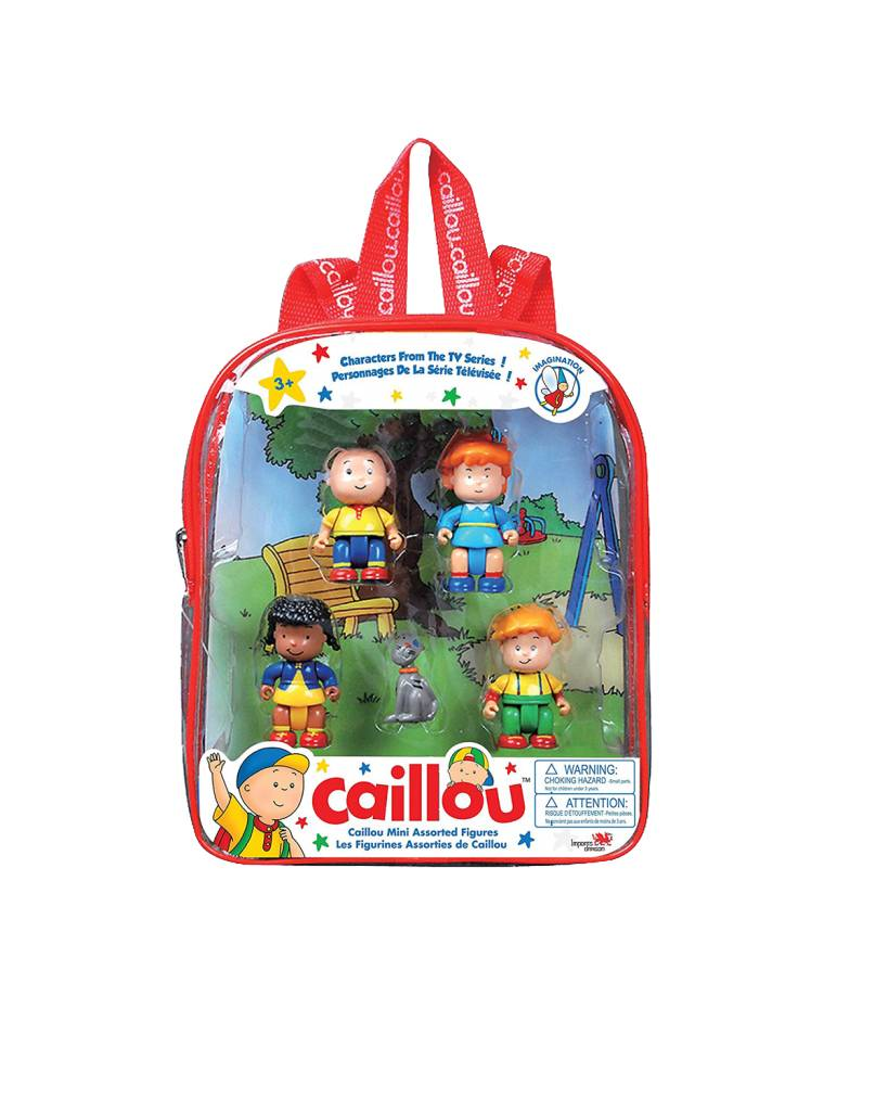 CAILLOU MINI FIGURES
