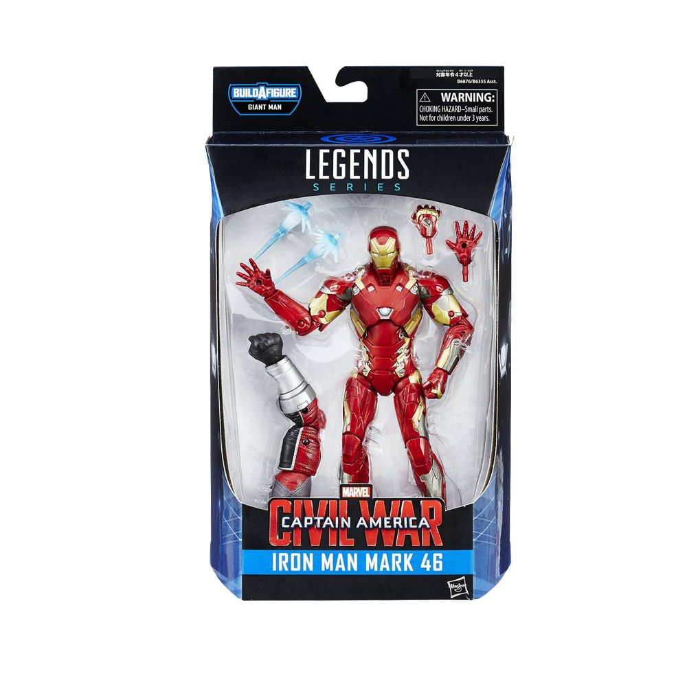 CAPTAIN AMERICA: IRON MAN FIGURE