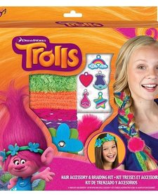 FASHION ANGELS - TROLLS - HAIR BRAIDING AND BEADING KIT