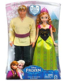 FROZEN SET OF TWO DOLLS