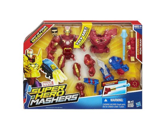 SUPER HERO MASHERS IRON MAN
