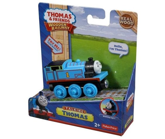 TALKING THOMAS WOODEN RAILWAY