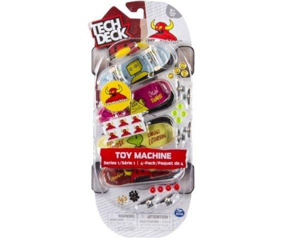 TECH DECK 4 PACK TOY MACHINE