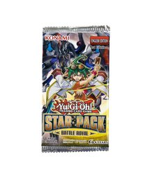 YUGIOH STAR PACK BATTLE ROYAL BOOSTER PACK
