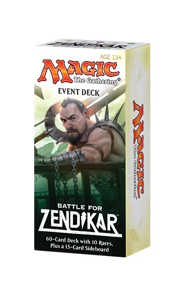 BATTLE FOR ZENDIKAR - EVENT DECK